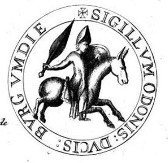 Odo II, Duke of Burgundy - Seal of Odo II of Burgundy