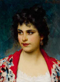 Eugen von Blaas - The Girl from Chioggia.png