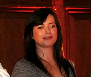 Eve Myles at The Rift, a Torchwood convention