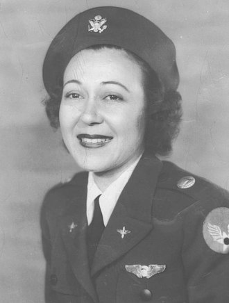 Evelyn Greenblatt Howren - Image: Evelyn Greenblatt in WASP uniform circa 1943