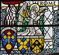 Exeter Cathedral, Stained glass window detail (36232953784).jpg