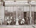 Exterior of CT Wernecke fur store, Seattle, ca 1895 (MOHAI 9970).jpg