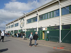 Huish Park - Image: External Huish Park