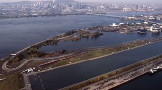 Circuit Gilles Villeneuve -  Île Notre-Dame Circuit in the middle of the St. Lawrence river (1978)
