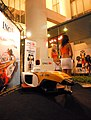 F1 GP grid girlsING Renault F1 party.jpg