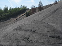 FAB's BlaschakCoalCompany IMG 4456 Cleaned stove coal Heap ready for front end loader and Dump trucks.JPG