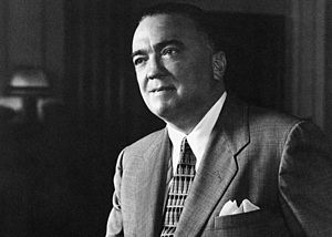 J. Edgar Hoover - Hoover photographed in 1959