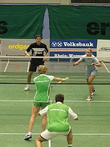Matĉo en badmintono
