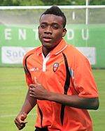 FC Lorient - June 27th 2013 training - Alain Traoré 3.JPG