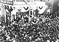 FDR delivering a campaign speech at the Nelson House in Poughkeepsie (46) (8122643878).jpg