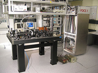 Second - FOCS 1, a continuous cold caesium fountain atomic clock in Switzerland, started operating in 2004 at an uncertainty of one second in 30 million years.