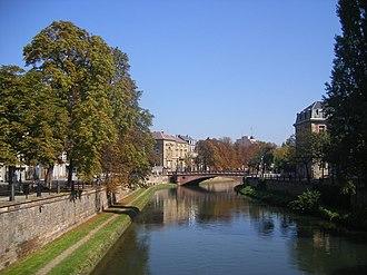 Canal du Faux-Rempart - Image: FR 67 Strasbourg 01