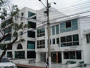 Saint Martin University - Image: FUSM Bogotá, Abierta y a Distancia