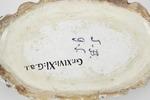 Fajans, bonbonnière, baksida, 1773-1776 - Hallwylska museet - 90606.tif