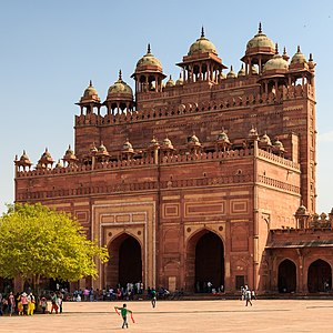 Jama Mosque, Fatehpur Sikri - Buland Gate Jama Masjid