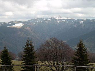 Valley step - Trough head of the St. Wilhelm Valley (Southern Black Forest)