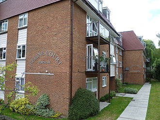 East Barnet - Feline Court, Cat Hill