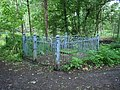 Fenced man-lid in Swithland Woods - geograph.org.uk - 863154.jpg