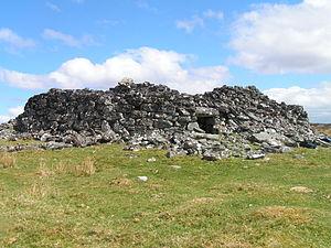 Broch - The remains of Feranch broch, Sutherland