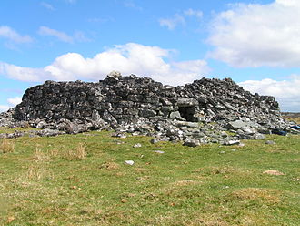 Broch - The remains of Feranch broch, Sutherland