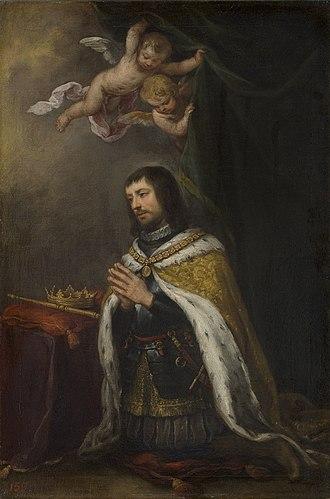 Ferdinand III of Castile - Image: Fernando III el Santo, rey de Castilla y León