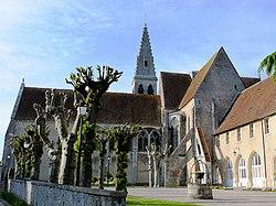 Ferrières - Abbaye - Eglise Saint-Pierre et bâtiments.jpg