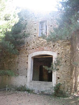 Vallata dello Stilaro - Blast furnace at Ferdinandea's Foundry at Stilo