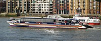 Ferries on the River Thames, London - geograph.org.uk - 1773487 cropped.jpg