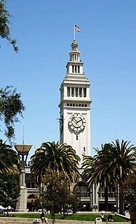 Embarcadero (San Francisco) thoroughfare in San Francisco, United States