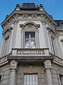 Festetics Palace main building, north wing corner, Keszthely, 2016 Hungary.jpg