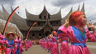 Islam in West Sumatra - Image: Festival Budaya Minangkabau 2016