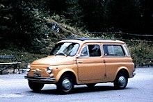 Fiat Nuova 500 Giardiniera del 1960