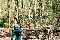 Field archery freestyle recurve
