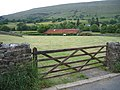 Field gate on Beech Hill, Dent - geograph.org.uk - 1379452.jpg