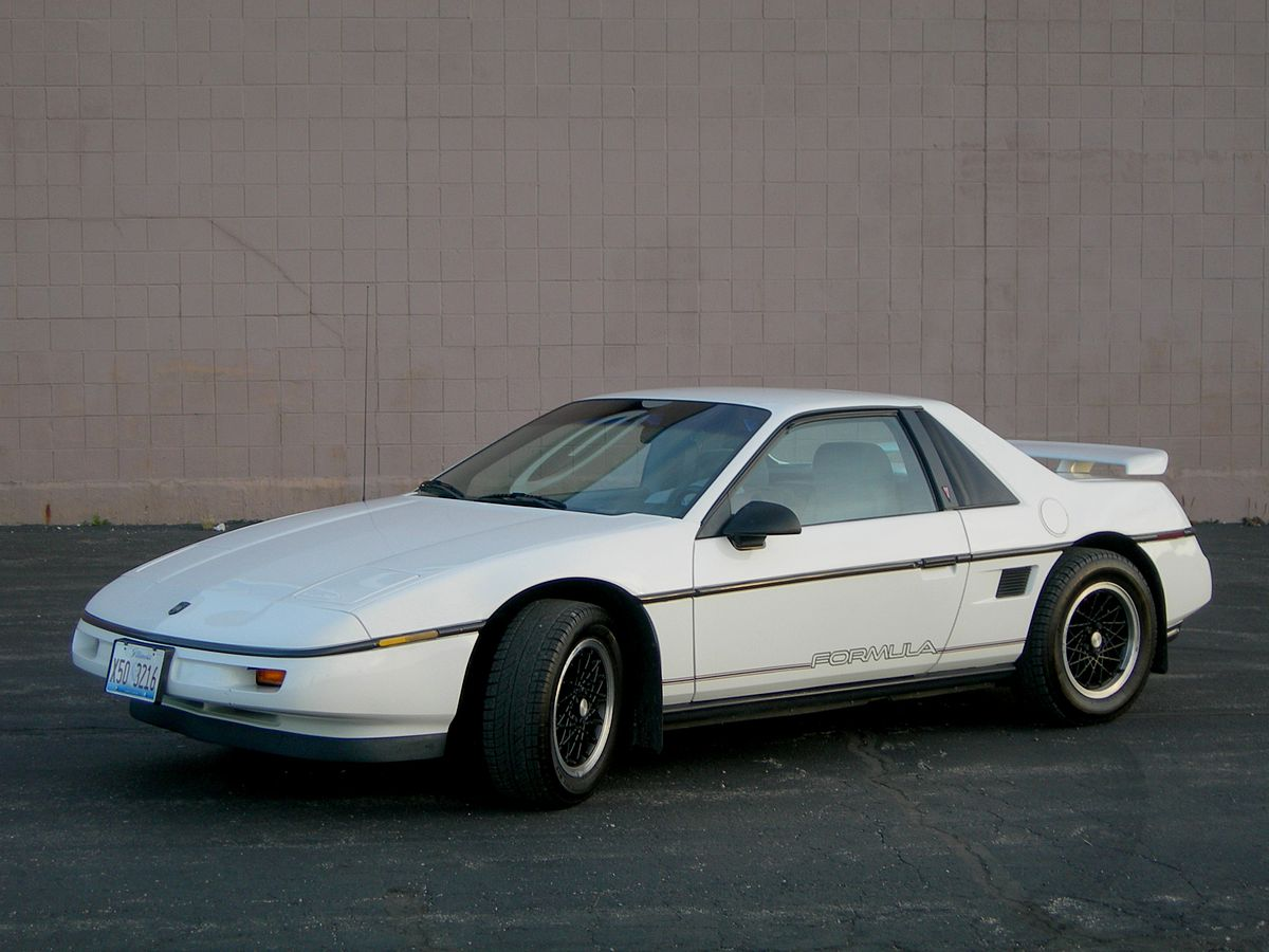Pontiac Fiero Wikipedia 1986 Honda Civic Firing Order