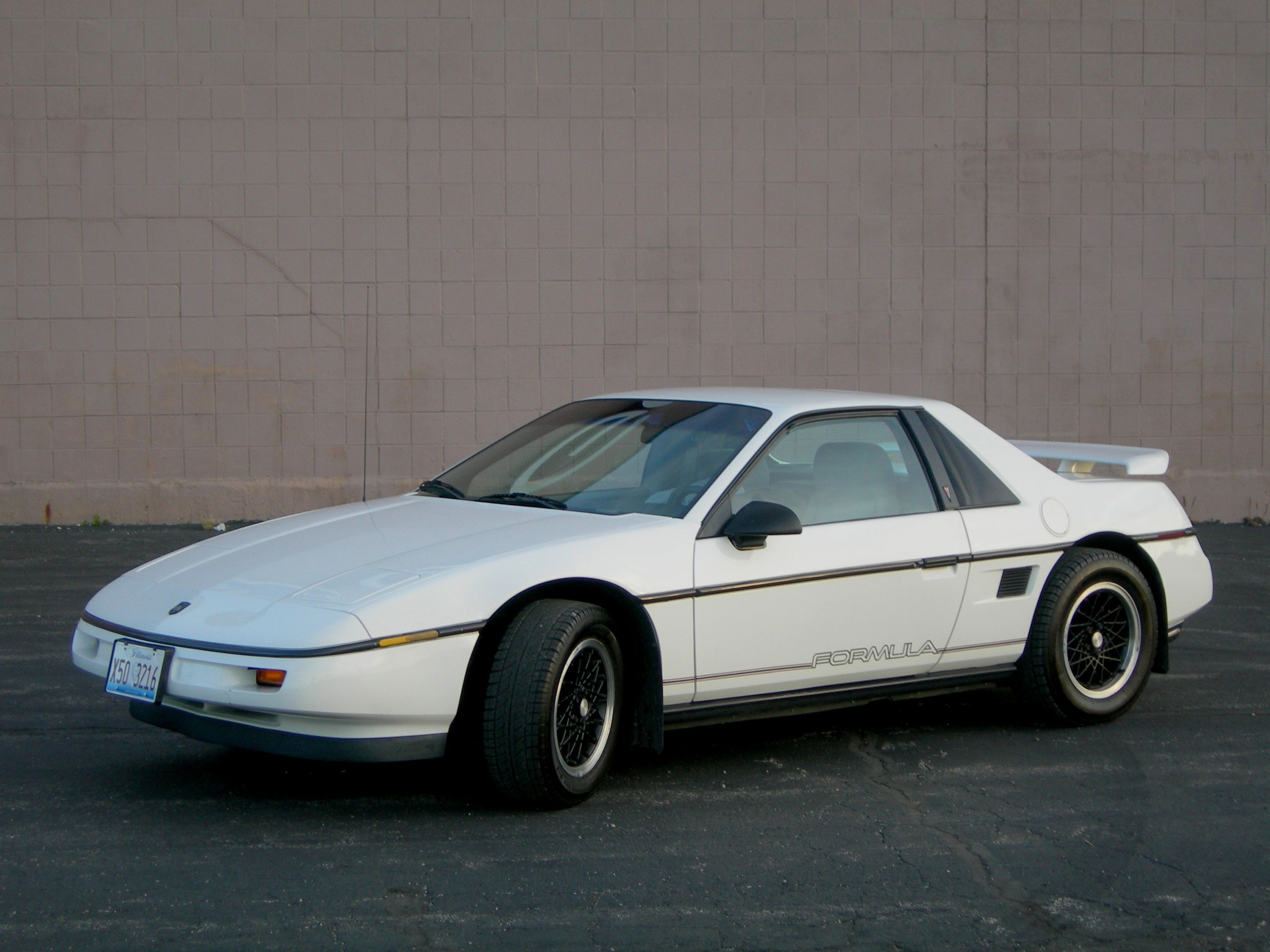 Pontiac Fiero - The complete information and online sale with free  shipping. Order and buy now for the lowest price in the best online store! 814fd61f1e7e