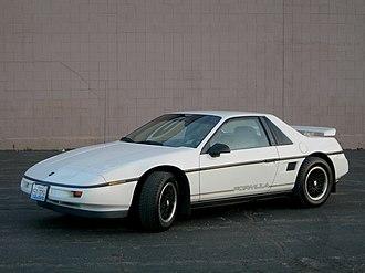 Pontiac Fiero - 1988 Fiero Formula
