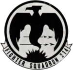 Fighter Squadron 214 (U.S. Navy) insignia, in 1956.png