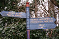 Fingerpost Wales Friars Point bilingual sign.jpg