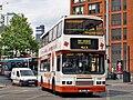 Finglands bus 1772 (N134 YRW) 1996 Volvo Olympian Alexander RH, Manchester Piccadilly, route 42, 25 July 2008 (3).jpg