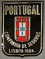 Fire mark for Companhia de Seguros Portugal in Lisbon, Portugal.jpg