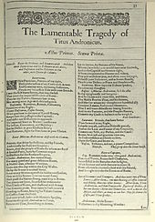 authorship of titus andronicus authorship of titus andronicus