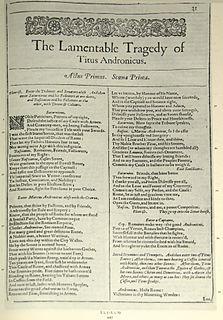 Authorship of <i>Titus Andronicus</i>