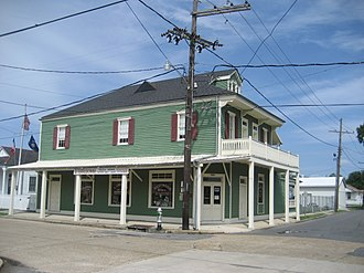 National Register of Historic Places listings in Jefferson Parish, Louisiana - Image: Fishermens Exchange Museum Westwego