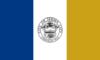 Flagge von Jersey City, New Jersey
