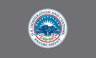 Flag of the United States Immigration and Customs Enforcement