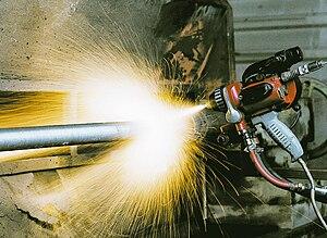 Thermal spraying - Wire flame spraying