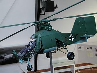 Flettner Fl 282 - Model of the 282