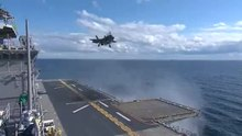 ファイル:Flickr - Official U.S. Navy Imagery - An F-35B Lightning II makes first vertical landing at sea.ogv