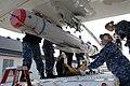 Flickr - Official U.S. Navy Imagery - Sailors downloads a SLAM-ER captive air training missile..jpg